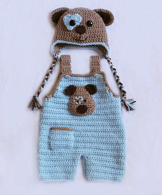 orgu bebek tulum modelleri