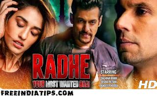 Radhe Full Movie Download by Worldfree4u