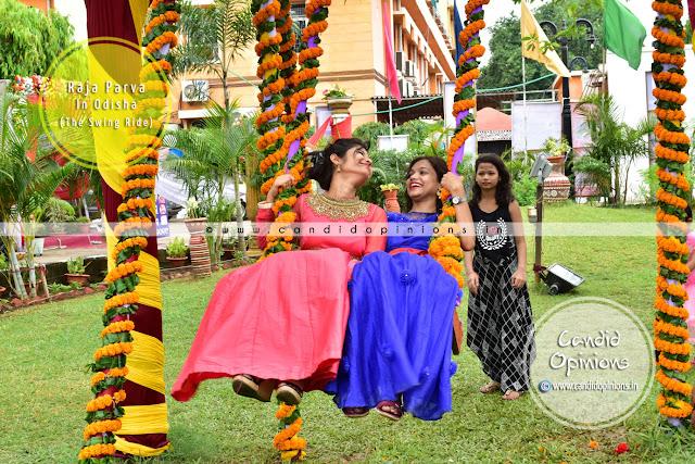 Raja Doli Swing Rides during Raja Parba