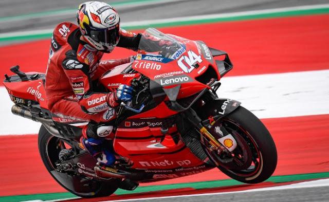 Hasil MotoGP Austria: Dovizioso Juara