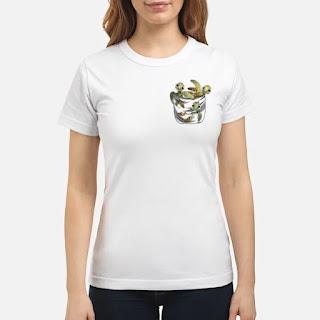 Sea Turtles In Pocket Shirt 6