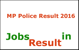 MP Police ASI Result 2016