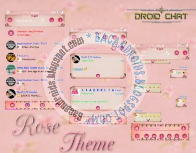 BBM2 Mod Versi 2.13.1.14 Tema Rose Theme