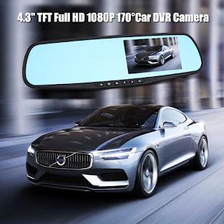 specchietto videocamera