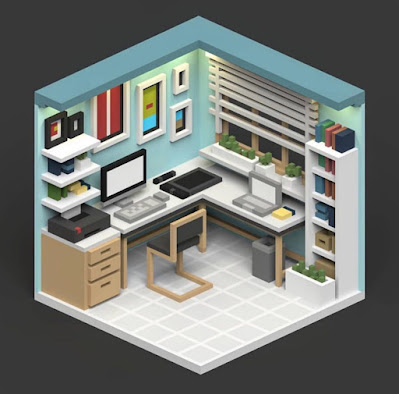 Voxel Home Office