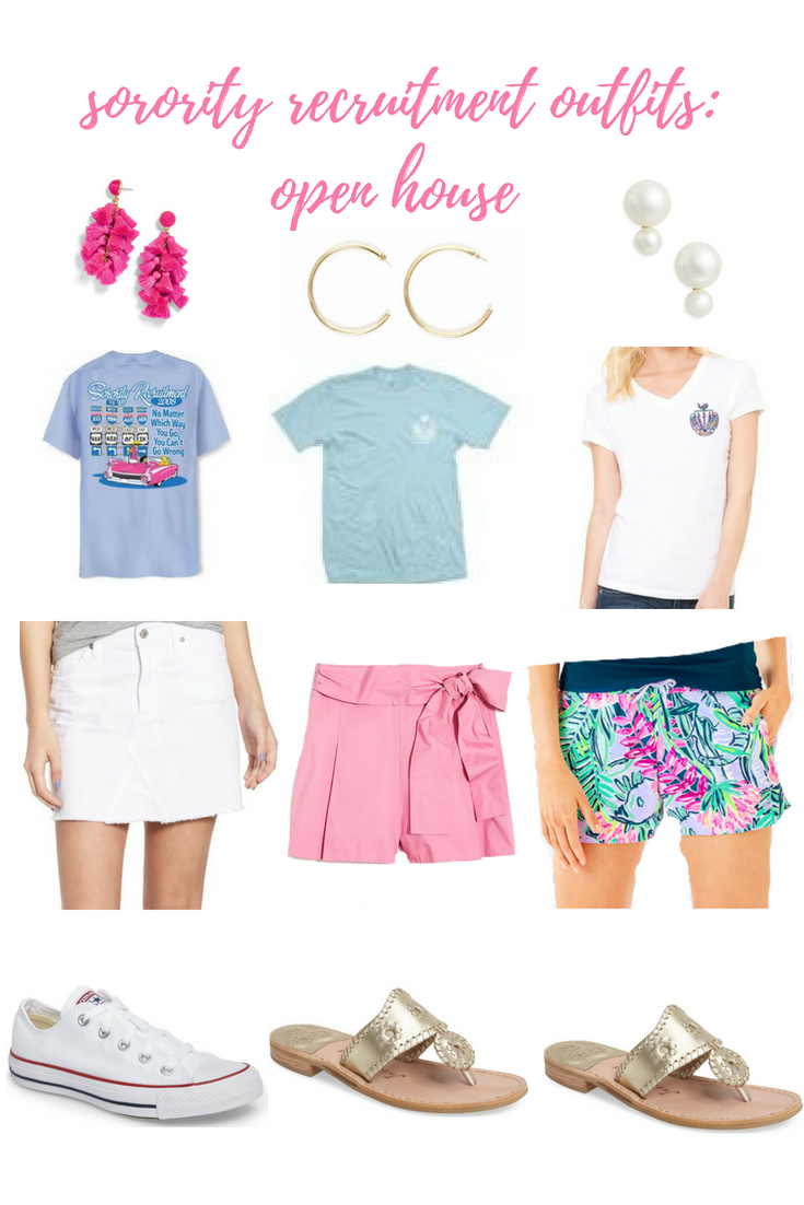 sorority rush outfits: what to wear during recruitment - the