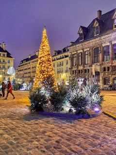 Photographie des lumières de Noël avec u smartphone