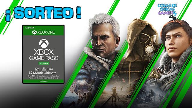 Sorteo Tarjeta Xbox Game Pass Ultimate