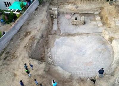 Ρωμαϊκό γυμναστήριο της αρχαίας Λαοδοκείας του Ικονίου ανακάλυψαν οι αρχαιολόγοι