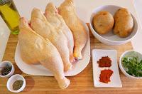 POLLO ADOBADO al HORNO 😋🍗(con patatas)🍗😋