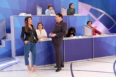 Patricia, Silvio e a turma do Pontinhos (Crédito: Lourival Ribeiro/SBT)