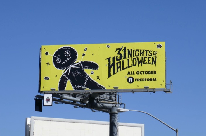 31 Nights of Halloween billboard
