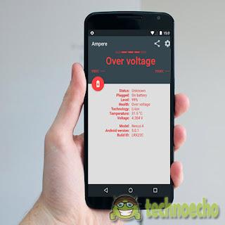 aplikasi cek kapasitas baterai android