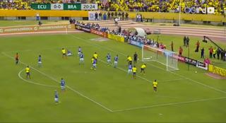 ملخص واهداف مباراة البرازيل والاكوادور فى تصفيات كأس العالم: أمريكا الجنوبية