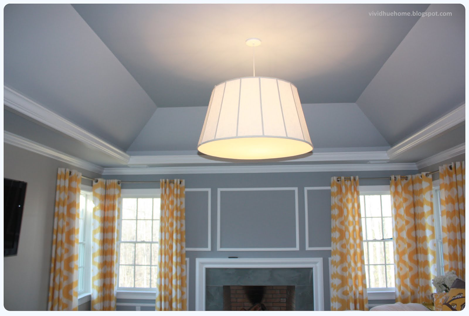 Vivid Hue Home Sky S The Limit Painted Ceilings