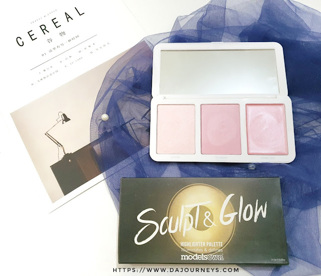 [Review] Models Own Sculpt and Glow Highlighter Palette