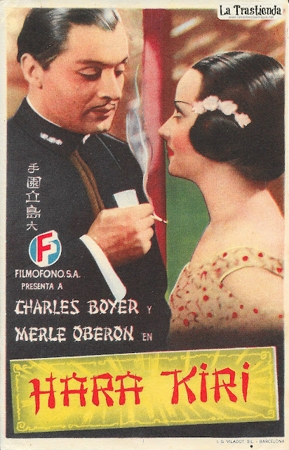 Hara Kiri - Programa de Cine - Charles Boyer - Merle Oberon