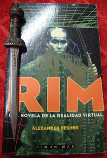 Portada del libro Rim, de Alexander Besher