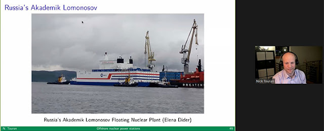 Some offshore floating nuclear plants are here  (Source: Distinctive Voices lecture by Nick Touran)