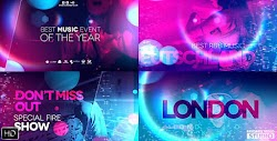 Ultraviolet Music Party | After Effects Project Files | Videohive 20846950 - Free download