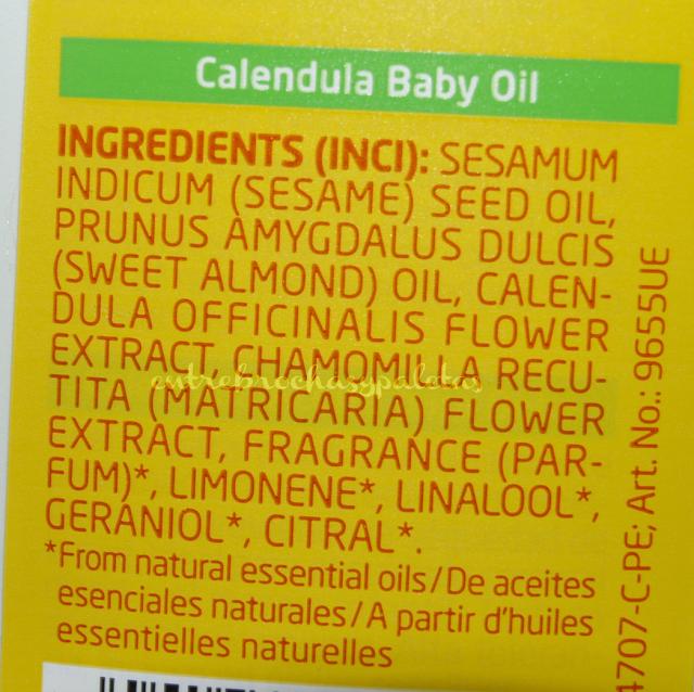 aceite calendula weleda