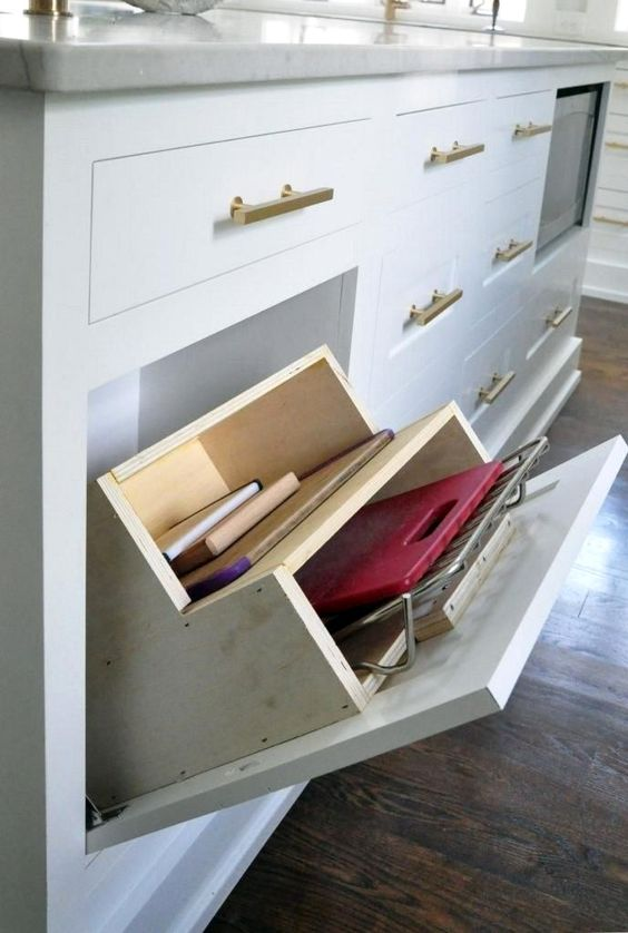 simple and minimalist home organize idea