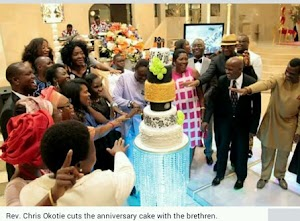 Pastor Chris Okotie Rejoiced With  Congregation as he  celebrates 30th Anniversary of his ministry  (photos)