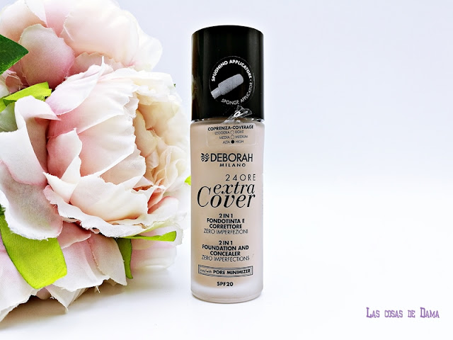 24 ORE Extra Cover Deborah Milano foundation makeup maquillaje belleza piel perfecta