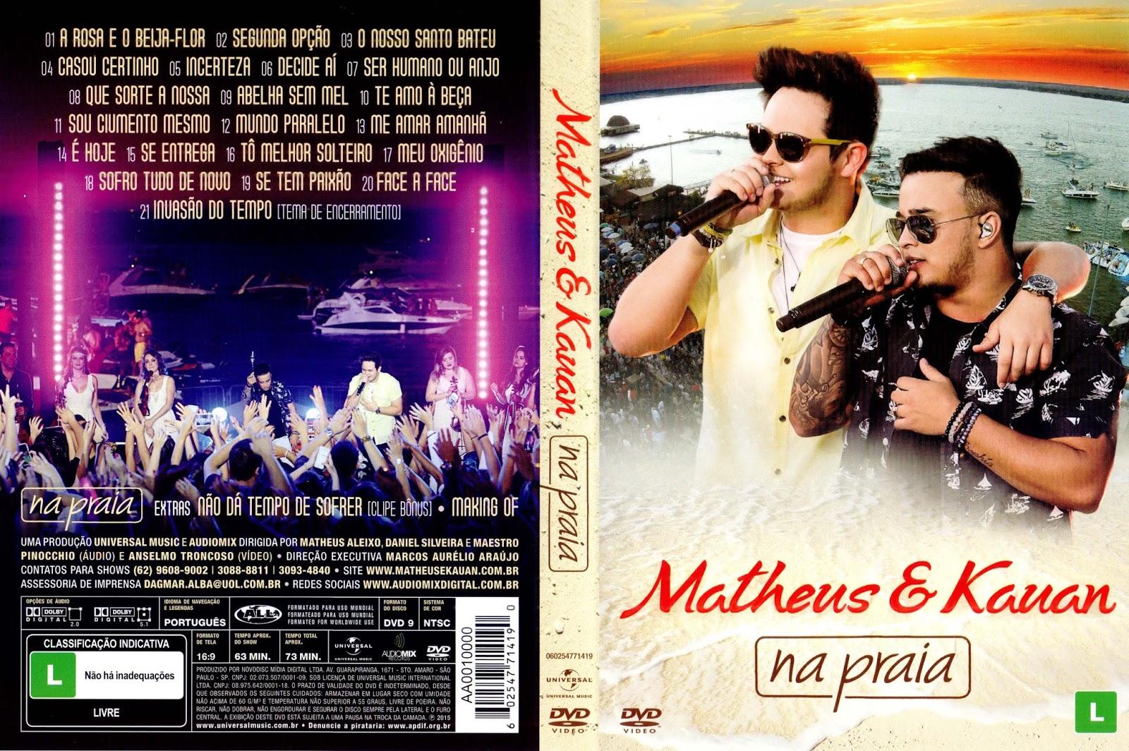 Matheus & Kauan Na Praia DVD-R Matheus 2B 2526 2BKauan 2BNa 2BPraia 2BDVD R 2B  2BXANDAODOWNLOAD