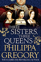Three Sisters, Three Queens by Philippa Gregory book cover