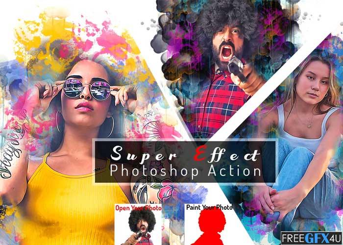 Super Effect Photoshop Action