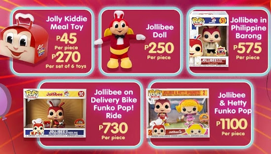 Jollibee Virtual Party Giveaways