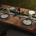 dining in the forest