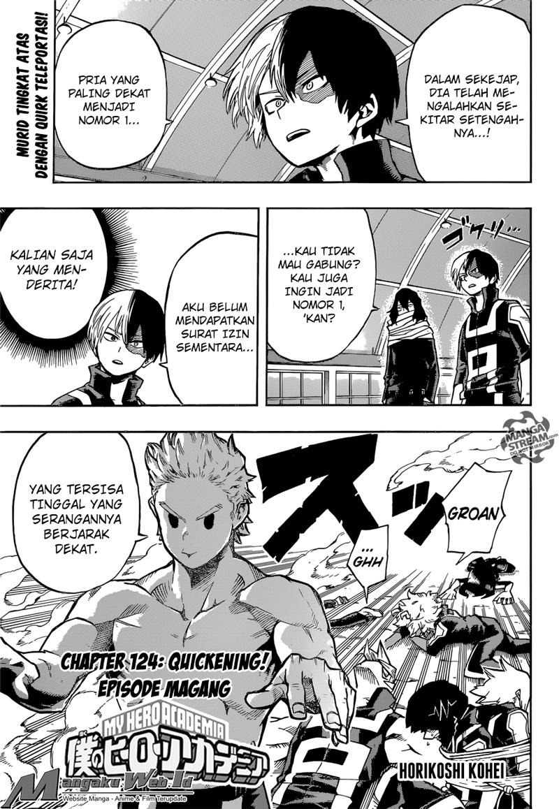 Boku no Hero Academia Chapter 124-1