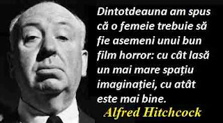 Maxima zilei: 13 august - Alfred Hitchcock