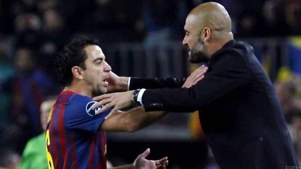 Pep Backs Xavi for Barcelona Job