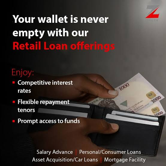 Zenith Bank Loan | Requirements & How to Apply in 5 minutes