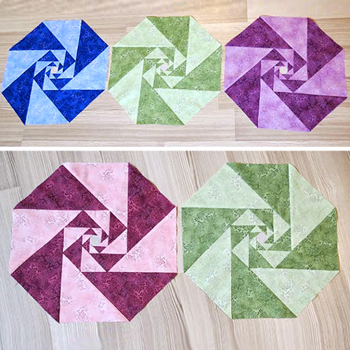 Two Color Patchwork Blocks - Tutorial