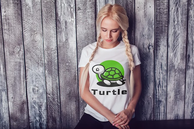 Turtle T-Shirt Design for Girls