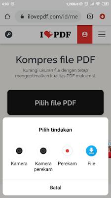 mengecilkan file pdf mudah dan cepat