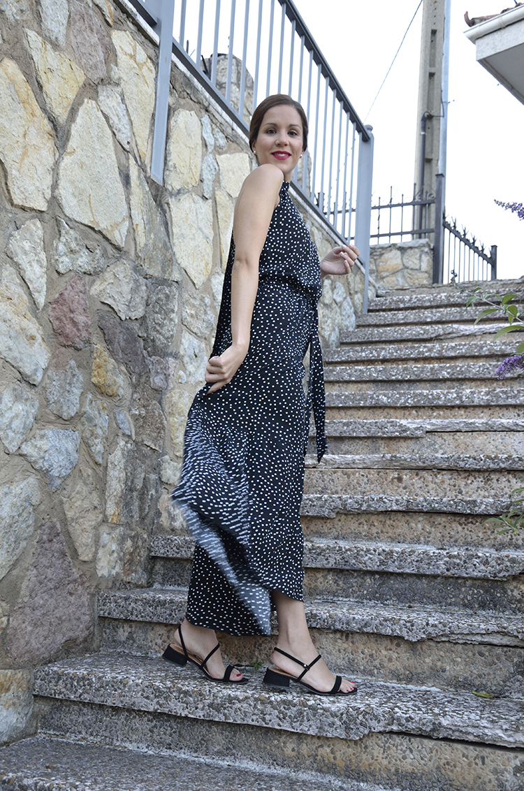 black_dress_dots_vestido_negro_lunares_summer_look_trends_gallery_outfit