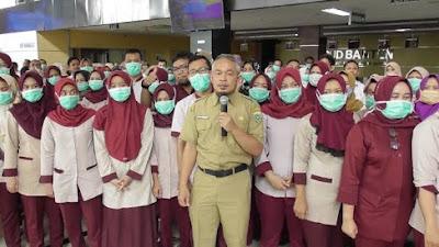 Gaji Cleaning Services Naik 5jt , 60 Orang Pegawai RSUD Banten Pilih Resign