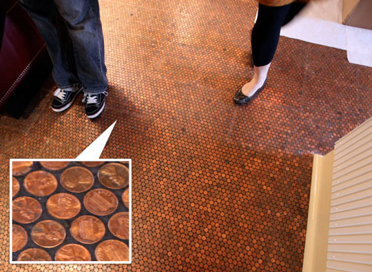 Our Old House: Penny Tiles