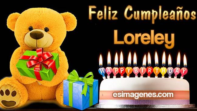 Feliz cumpleaños Loreley