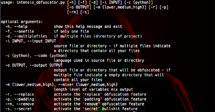Intensio Obfuscator : Obfuscate A Python Code 2.x & 3.x