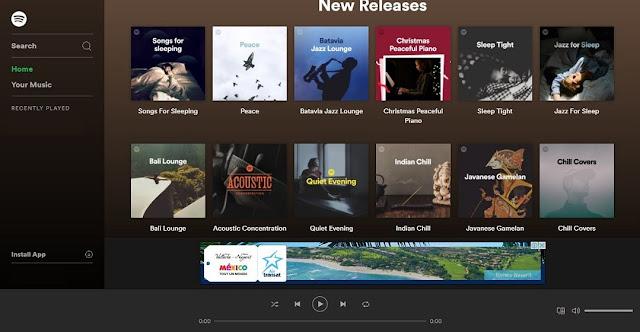 Suka mendengarkan musik di perangkat smartphone atau di pc tetapi penyimpanan data penuh Cara Daftar anen Spotify, Aplikasi Musik Terlengkap