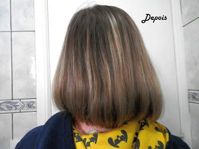 cabelo depois de cronograma capilar