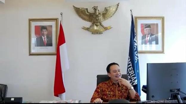 Lewat Virtual, Wamen Jerry Sambuaga Ajak Mitra selesaikan GSP Secepatnya