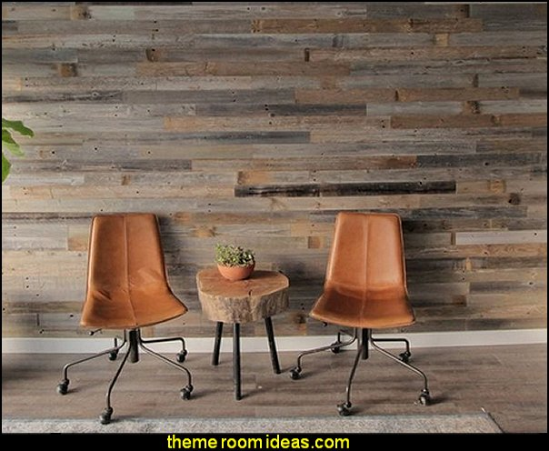 Reclaimed Barn Wood Wallpaper mural