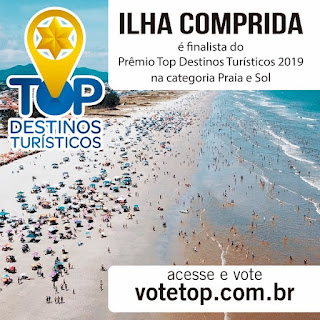 Ilha é finalista do prêmio Top Destinos Turísticos na categoria Mar e Sol